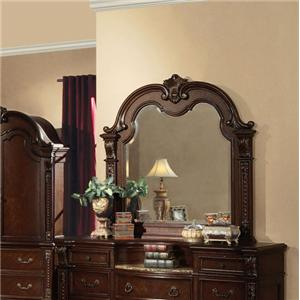 Traditional Dresser-top Mirror