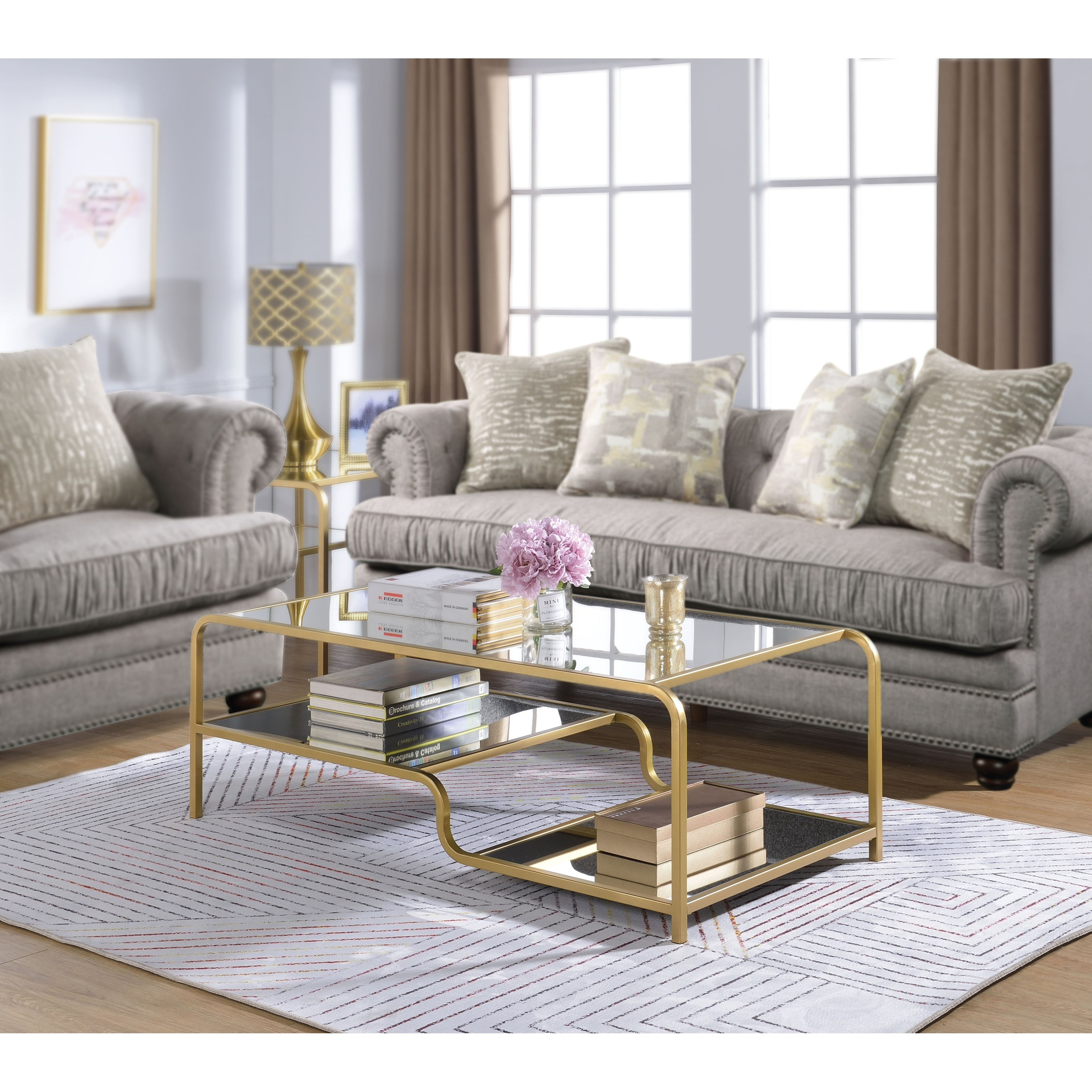 Astrid Coffee Table by Acme Furniture at Carolina Direct