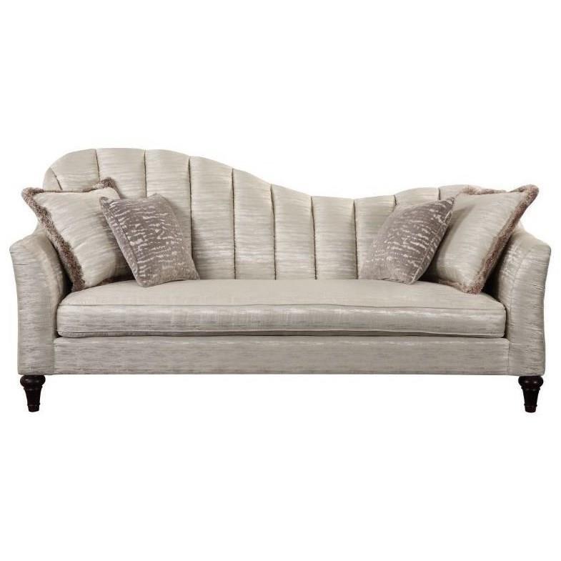 Athalia Sofa w/4 Pillows by Acme Furniture at Nassau Furniture and Mattress