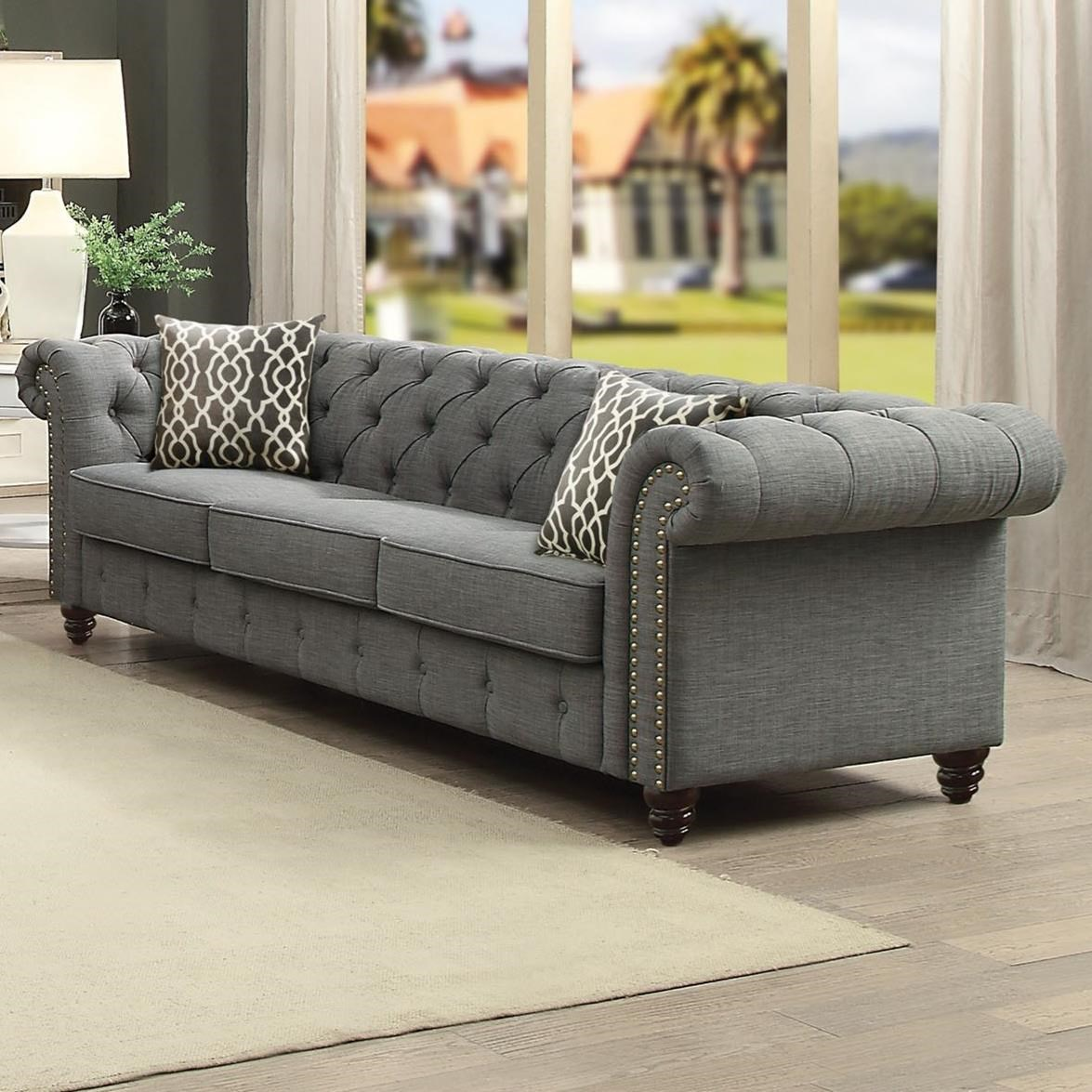 Aurelia Sofa by Acme Furniture at Carolina Direct