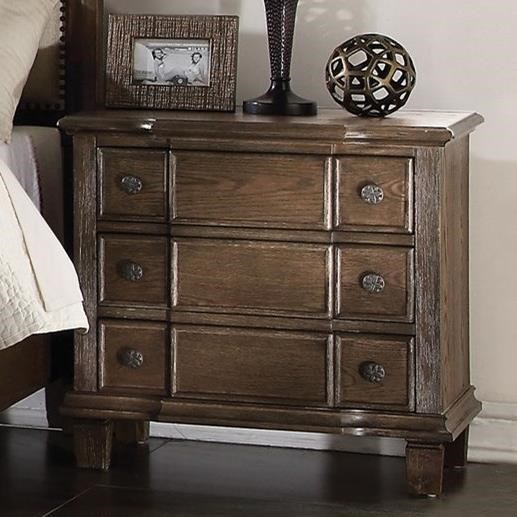 Baudouin Nightstand by Acme Furniture at A1 Furniture & Mattress