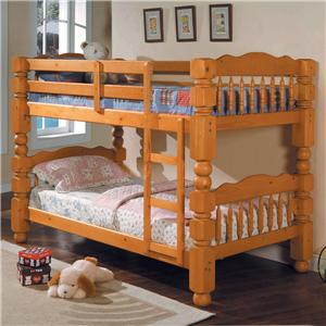 Traditional Twin Bunkbed