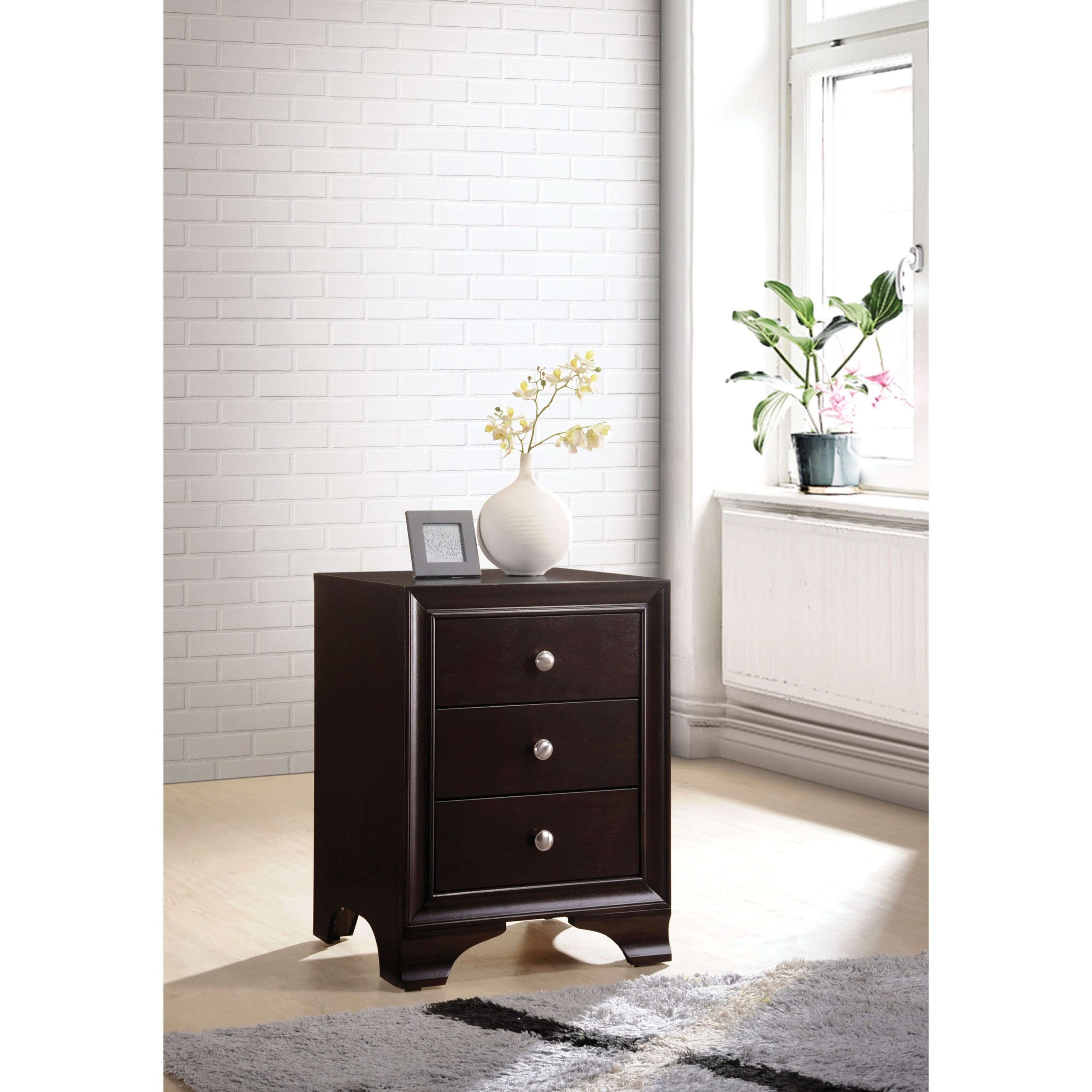 Blaise Nightstand by Acme Furniture at Nassau Furniture and Mattress