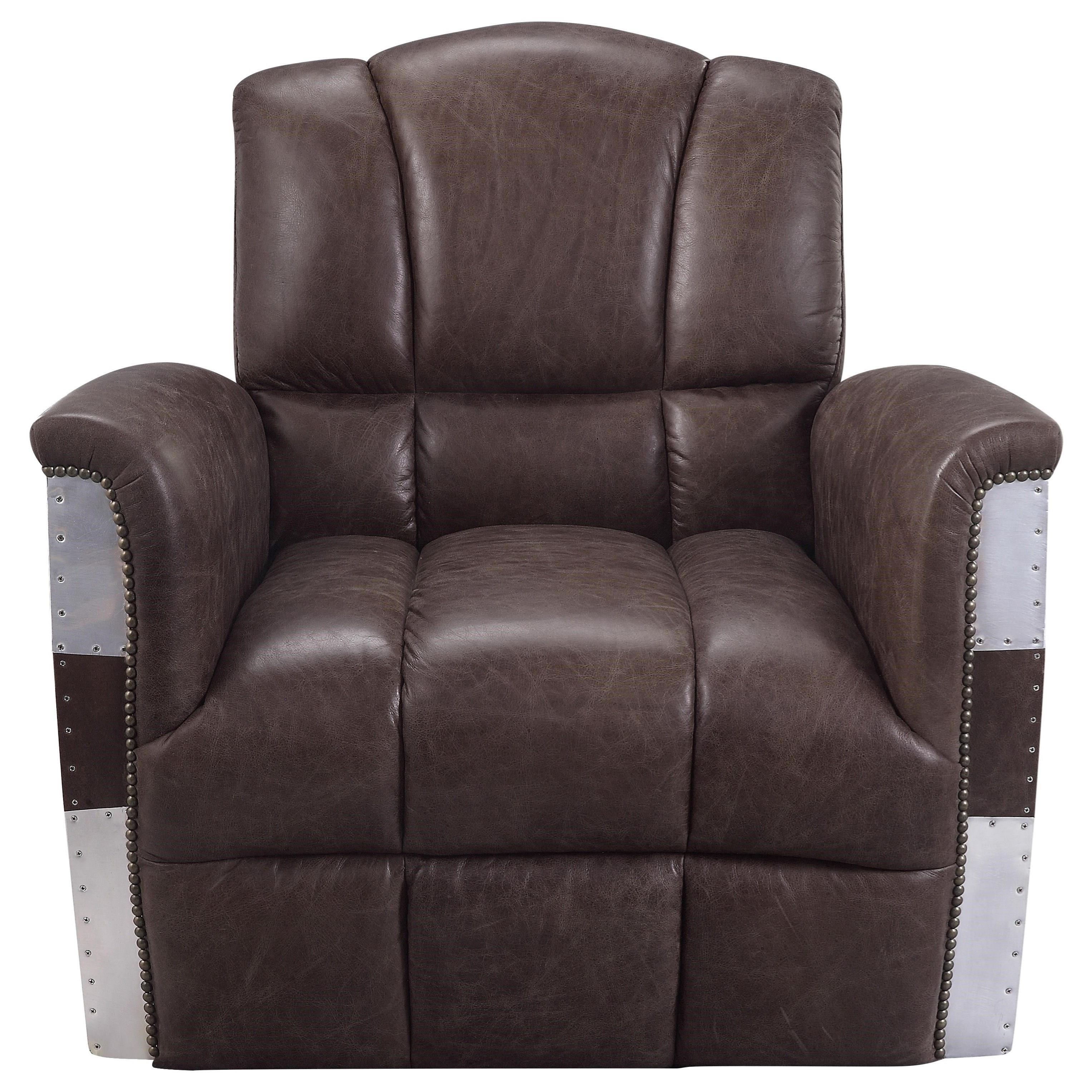 Brancaster Accent Chair by Acme Furniture at Corner Furniture