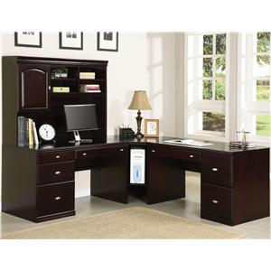 Corner Desk w/ Hutch