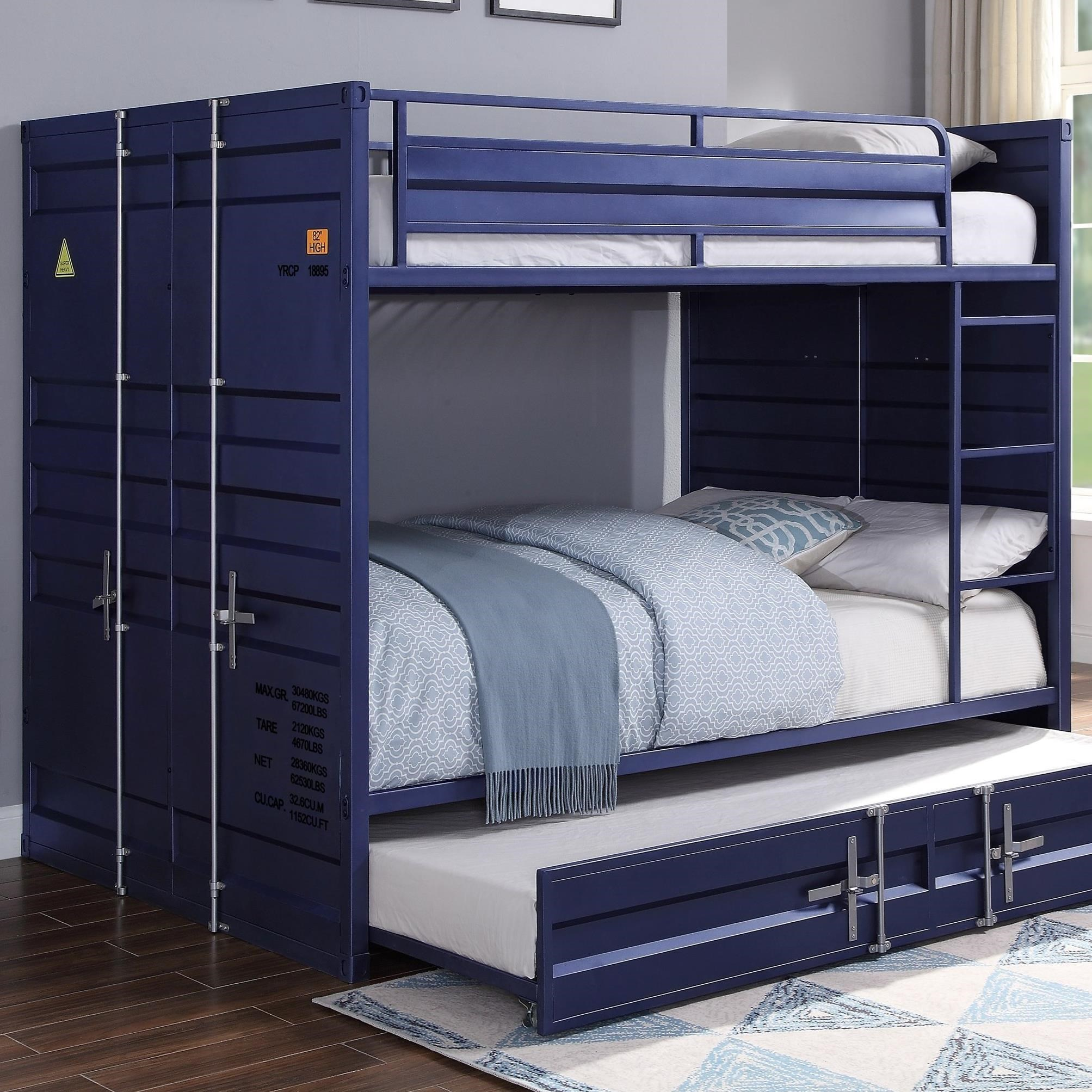 Cargo Bunk Bed (Full/Full) by Acme Furniture at Carolina Direct