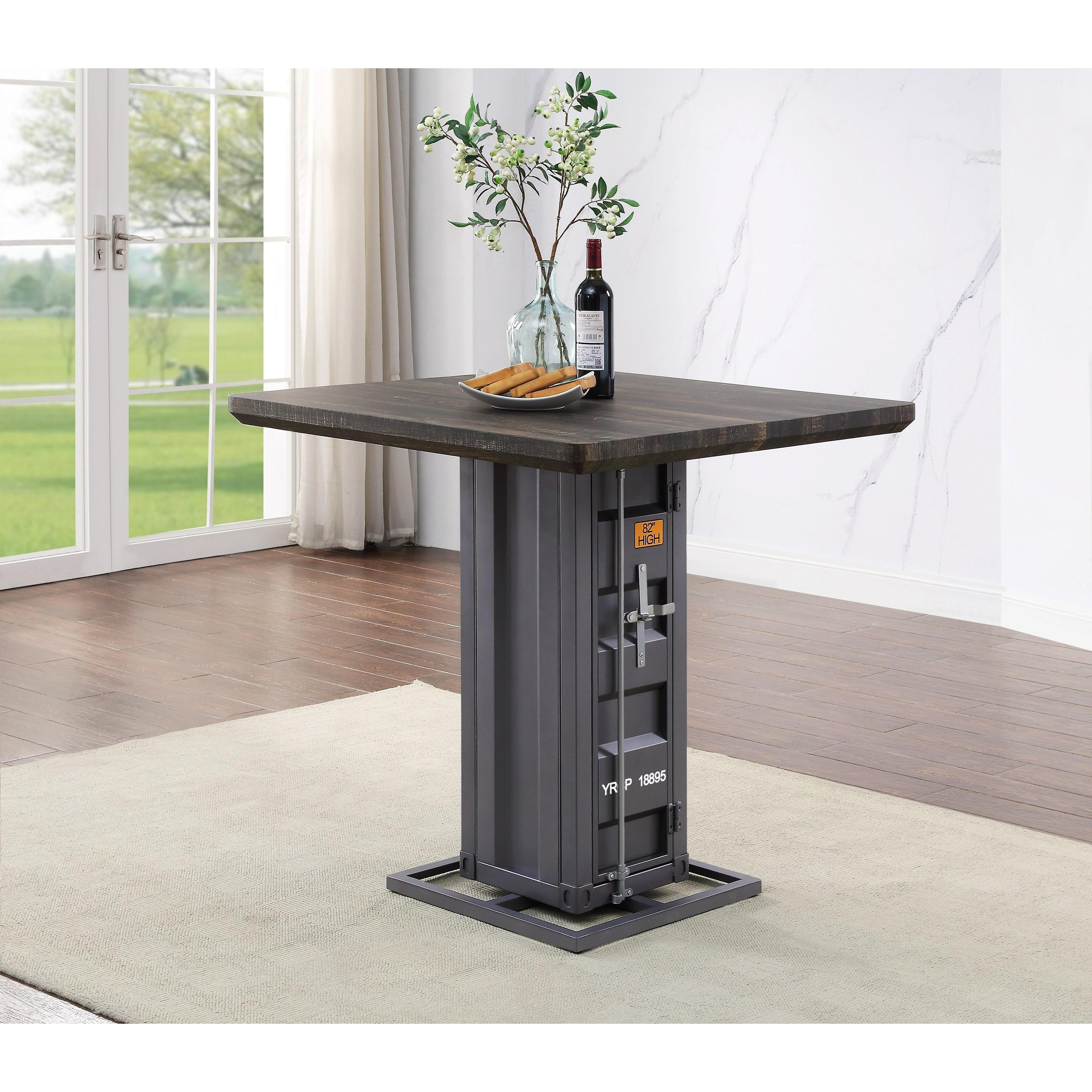 Cargo Counter Height Table by Acme Furniture at Carolina Direct