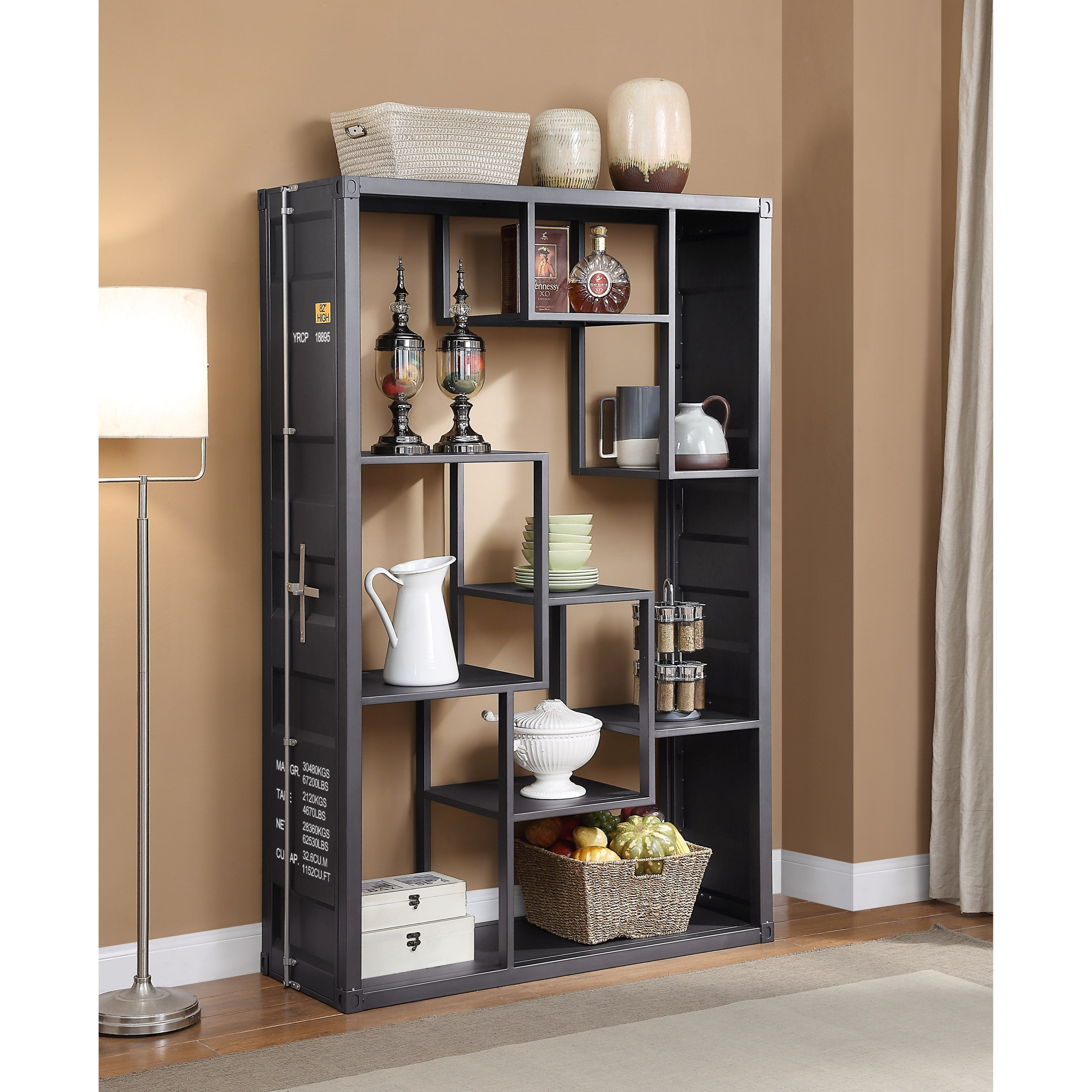 Cargo Shelf Rack / Book Shelf by Acme Furniture at Carolina Direct