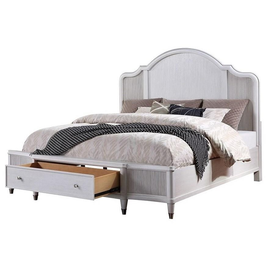 Celestia Queen Storage Bed by Acme Furniture at Dream Home Interiors