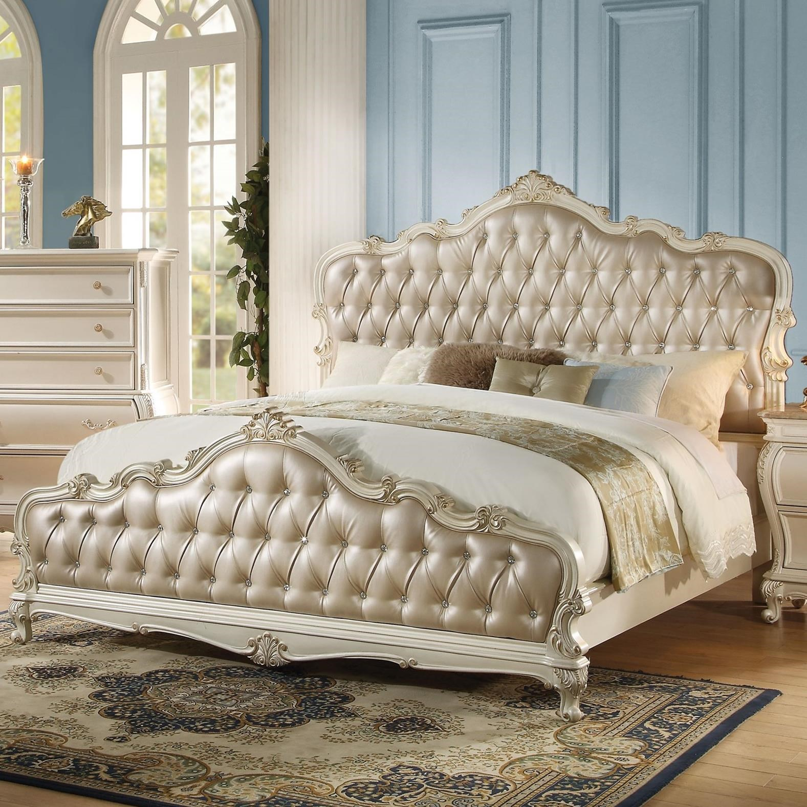 Chantelle Queen Bed by Acme Furniture at Carolina Direct