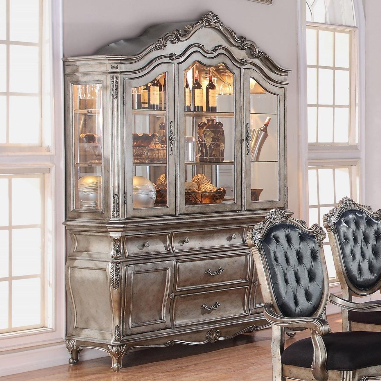Chantelle Hutch & Buffet by Acme Furniture at Carolina Direct