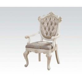 Pearl White Arm Chair