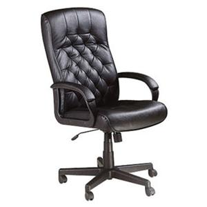 Tufted Leather Executive Chair