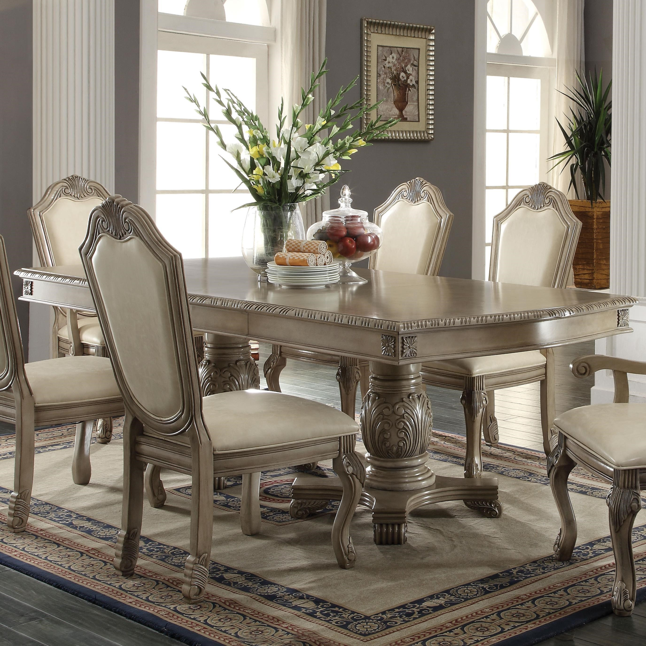 Chateau De Ville Dining Table by Acme Furniture at Carolina Direct