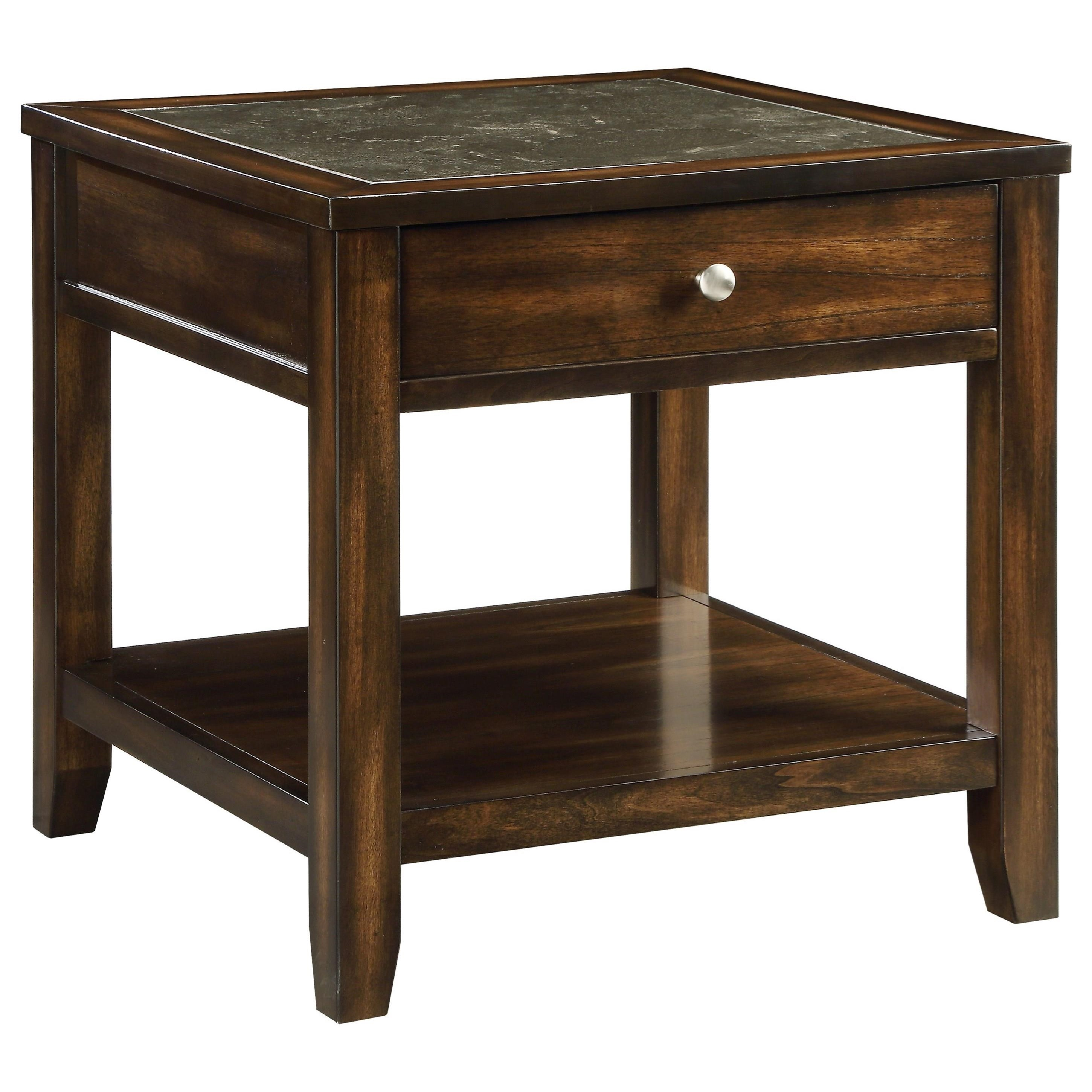Cilnia End Table by Acme Furniture at A1 Furniture & Mattress