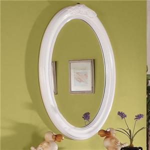Acme Furniture Classique Oval Mirror