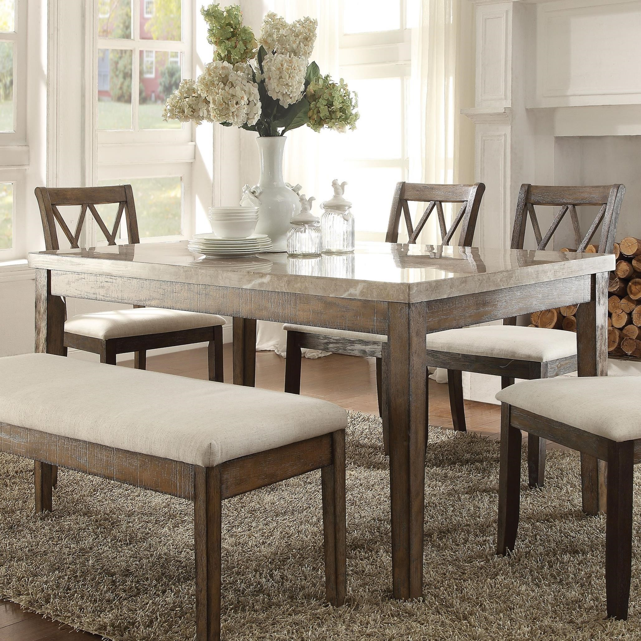 Claudia Dining Table by Acme Furniture at Carolina Direct
