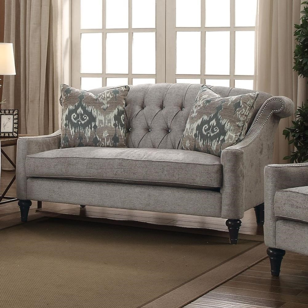 Colten Loveseat w/2 Pillows by Acme Furniture at Corner Furniture