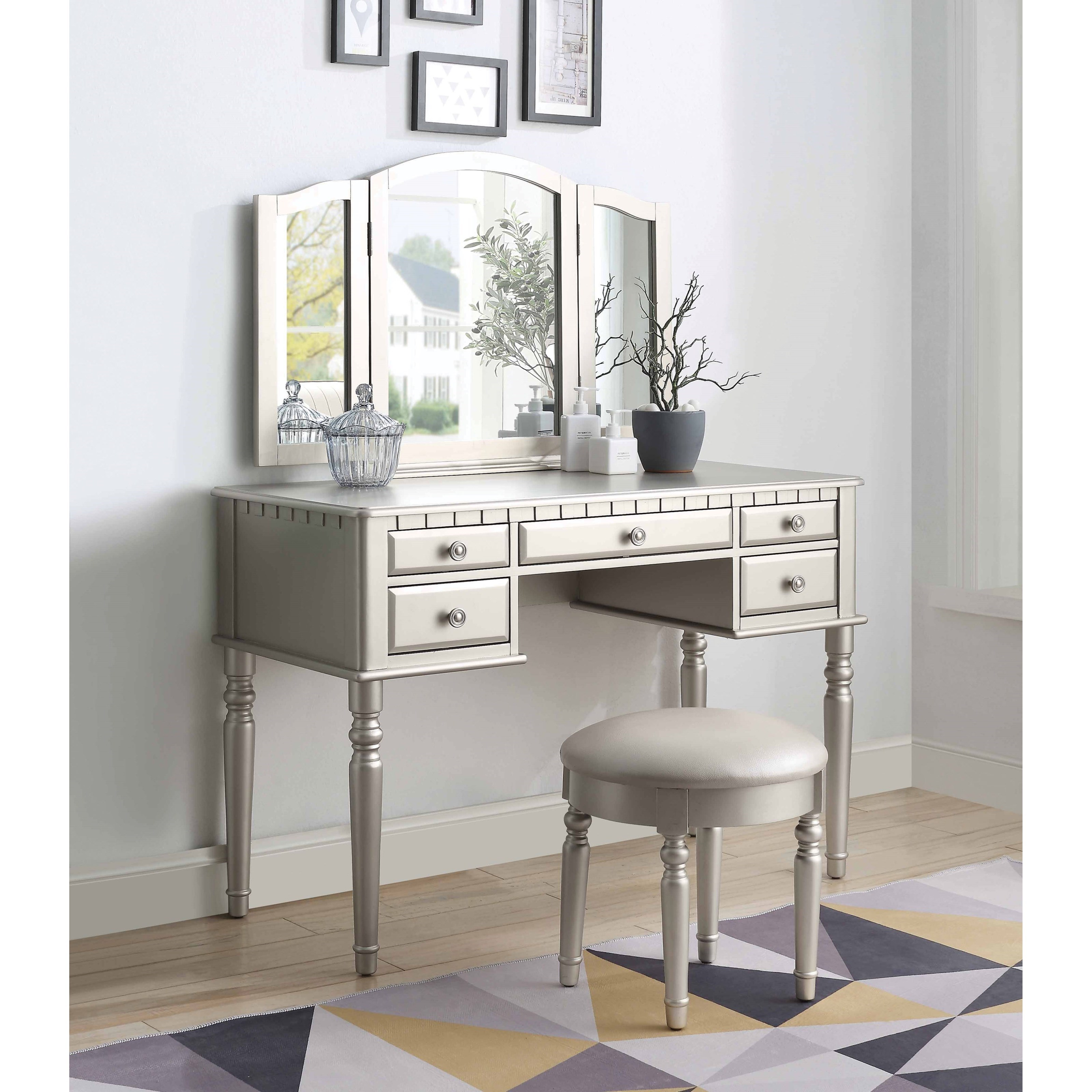 Corbulo Vanity Set by Acme Furniture at Carolina Direct