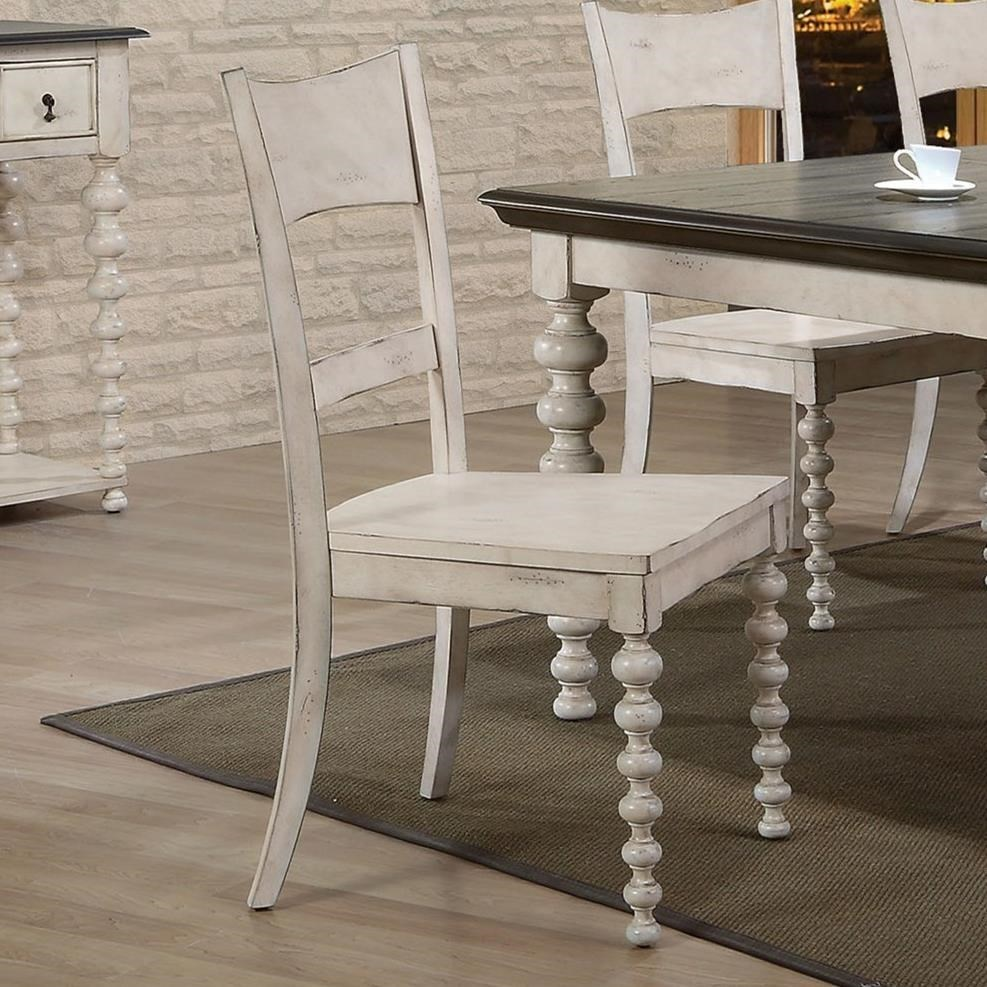 Coyana Side Chair by Acme Furniture at Carolina Direct