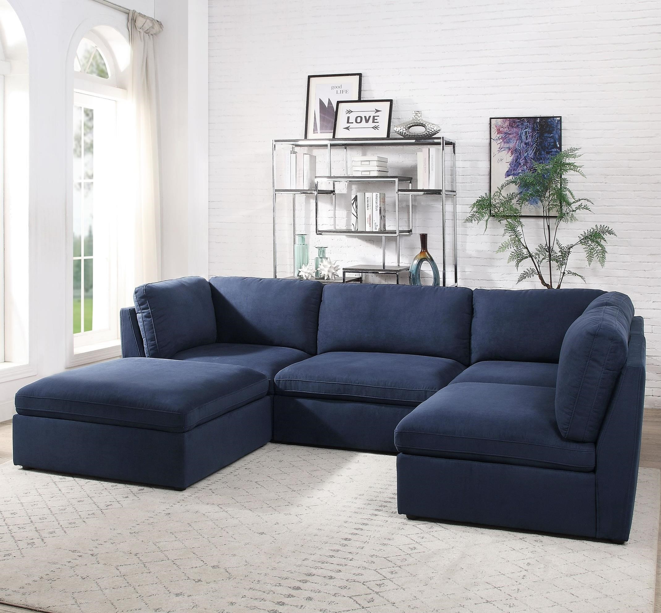 Crosby Sectional by Acme Furniture at A1 Furniture & Mattress