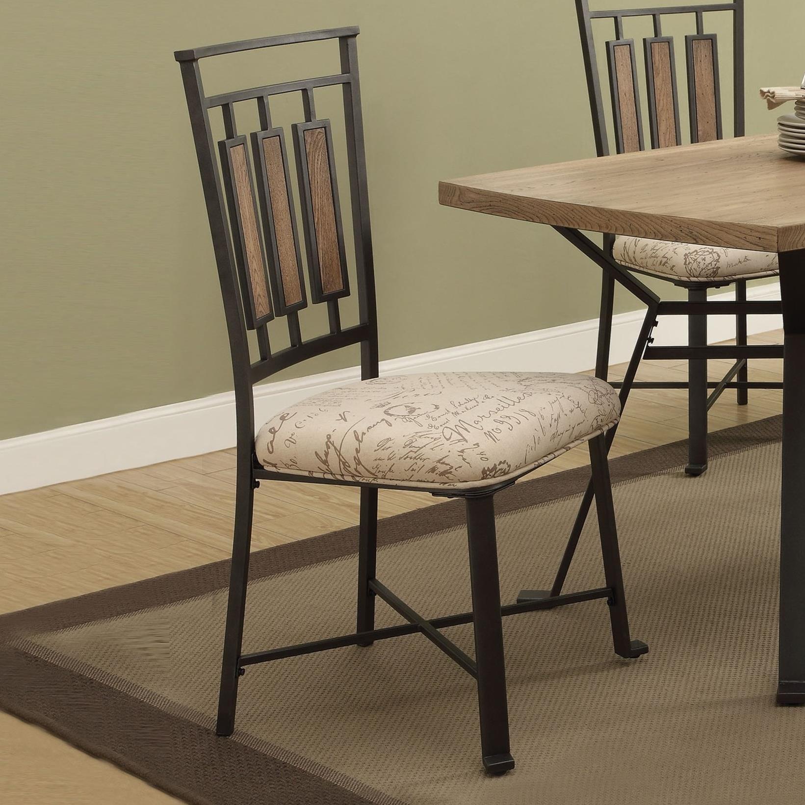 Dervon Side Chair by Acme Furniture at Carolina Direct