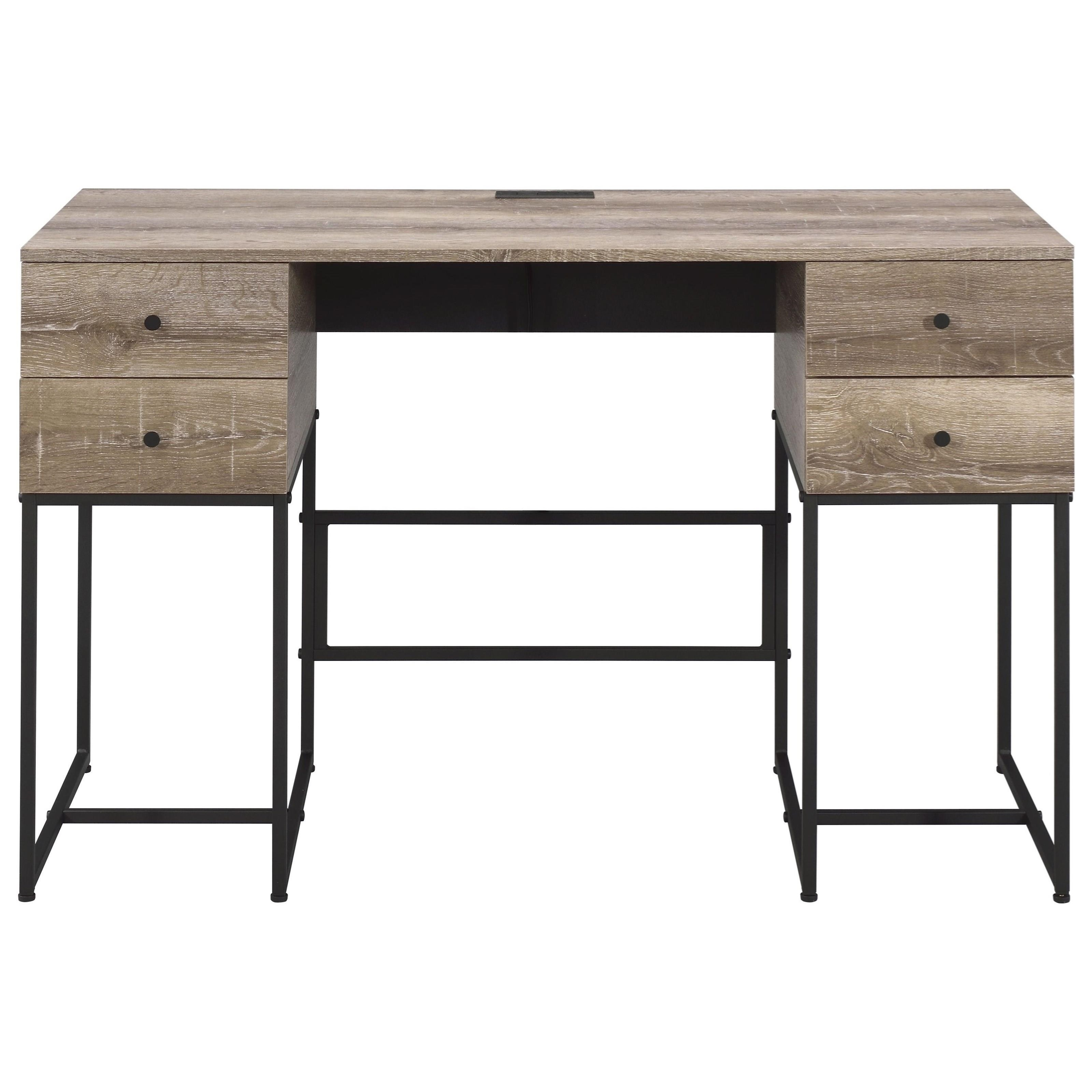 Desirre Desk by Acme Furniture at Nassau Furniture and Mattress