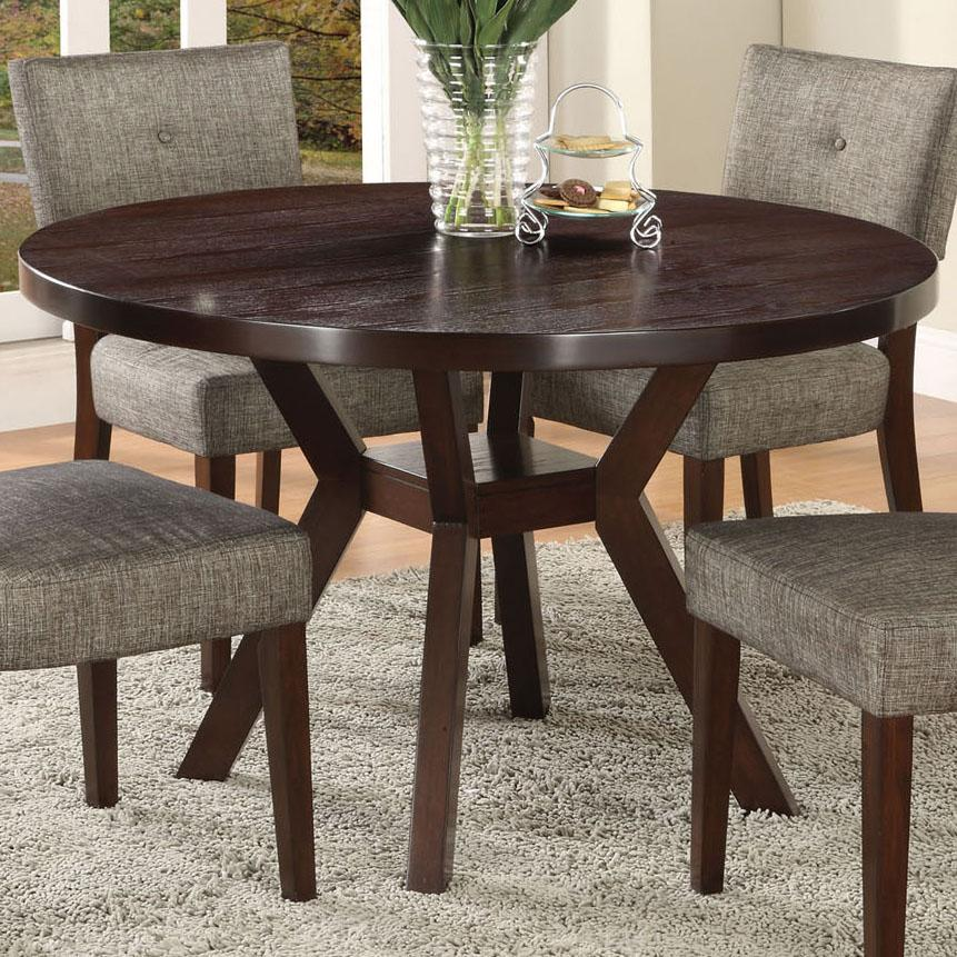 Drake Espresso Dining Table by Acme Furniture at Dream Home Interiors