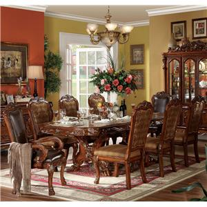 Acme Furniture Dresden 9 Piece Dining Set