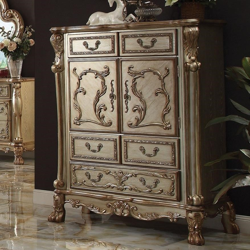 Dresden 5 Drawer Chest by Acme Furniture at Carolina Direct