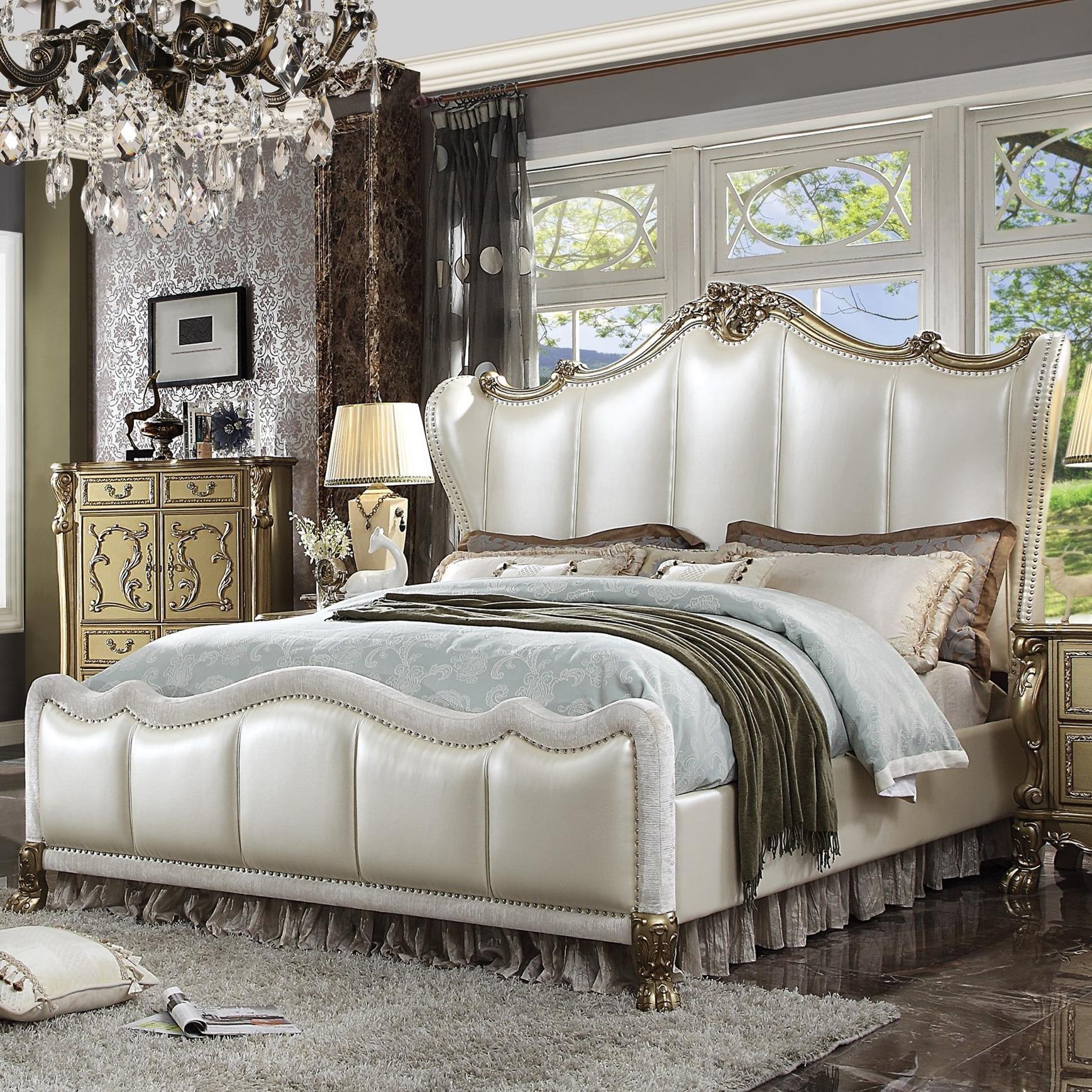 Dresden II California King Bed by Acme Furniture at Carolina Direct