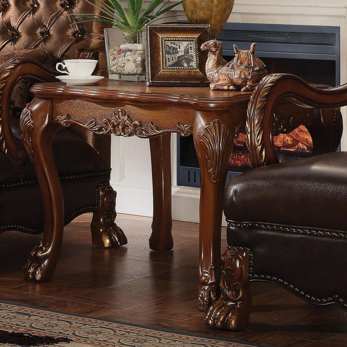 Dresden End Table by Acme Furniture at Carolina Direct