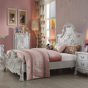 Traditional European Style Queen Size Bed
