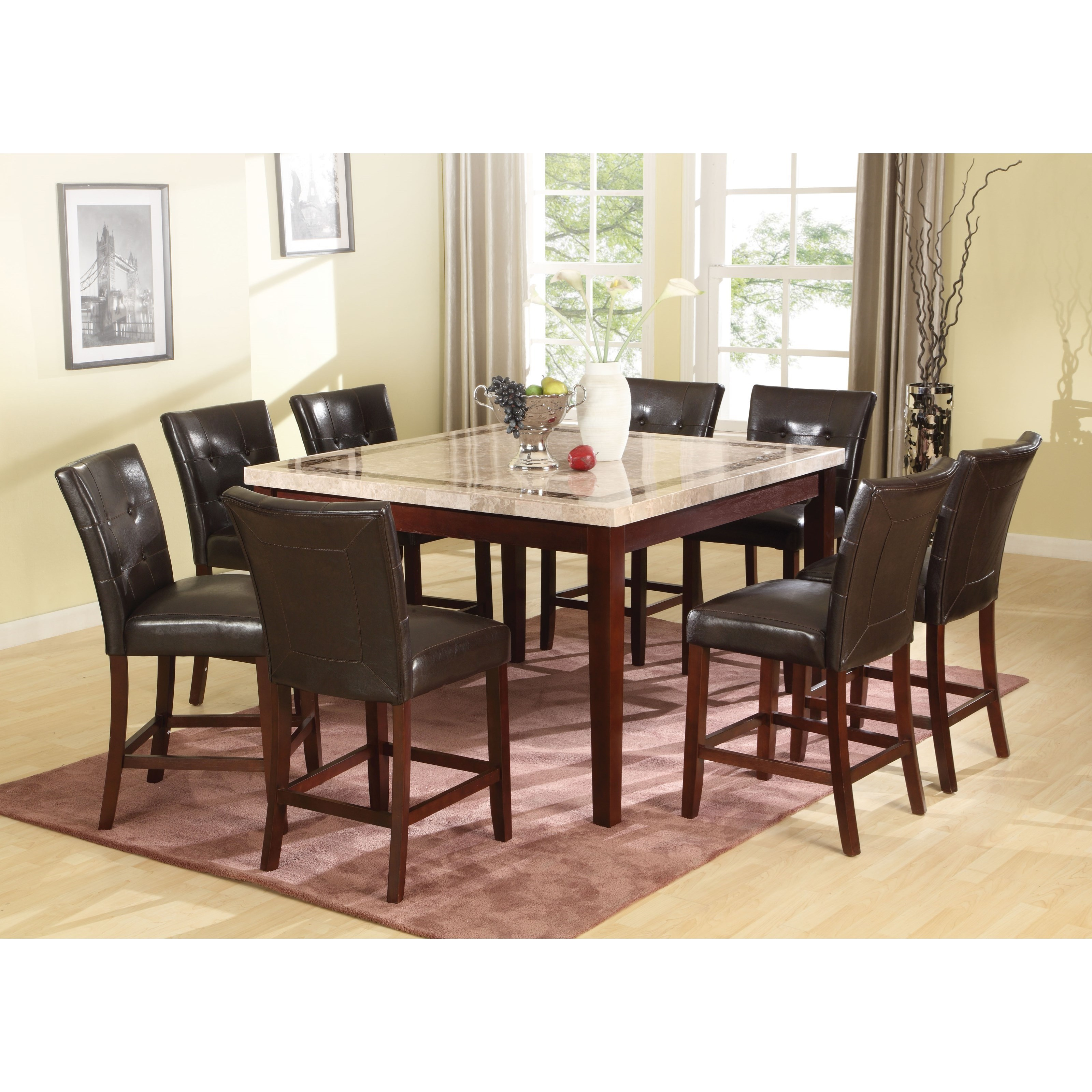 Earline Counter Height Table by Acme Furniture at Carolina Direct