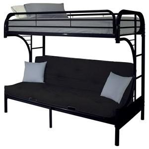 Twin/Full Futon Bunk Bed