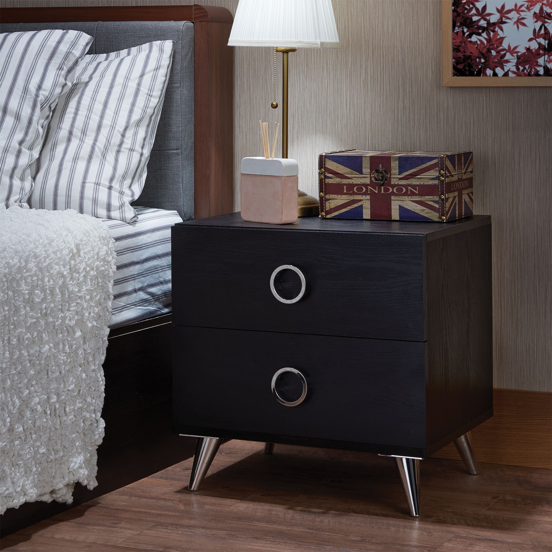 Elms Nightstand by Acme Furniture at Carolina Direct