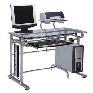 Computer Desk with 1 Shelf