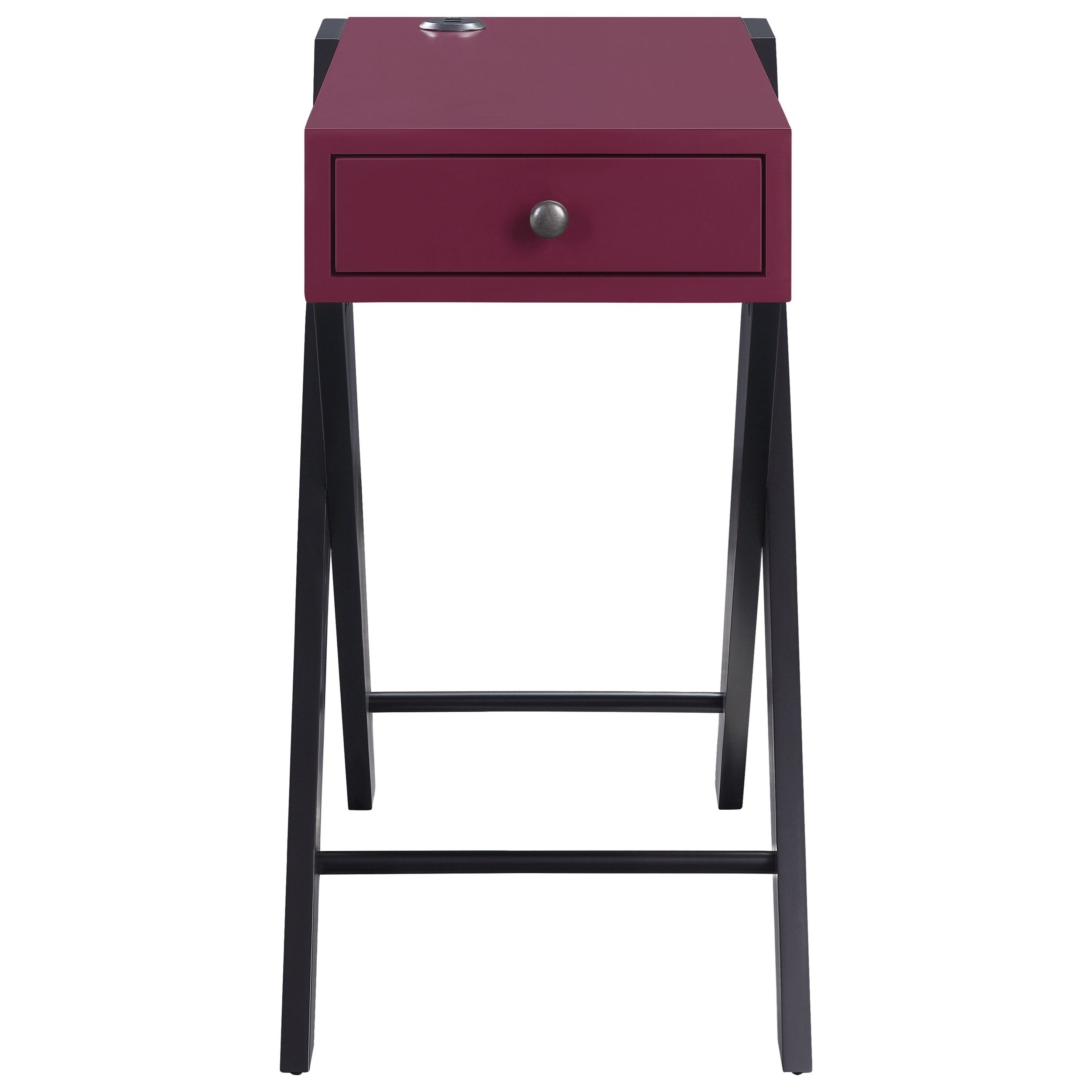 Fierce End Table by Acme Furniture at A1 Furniture & Mattress