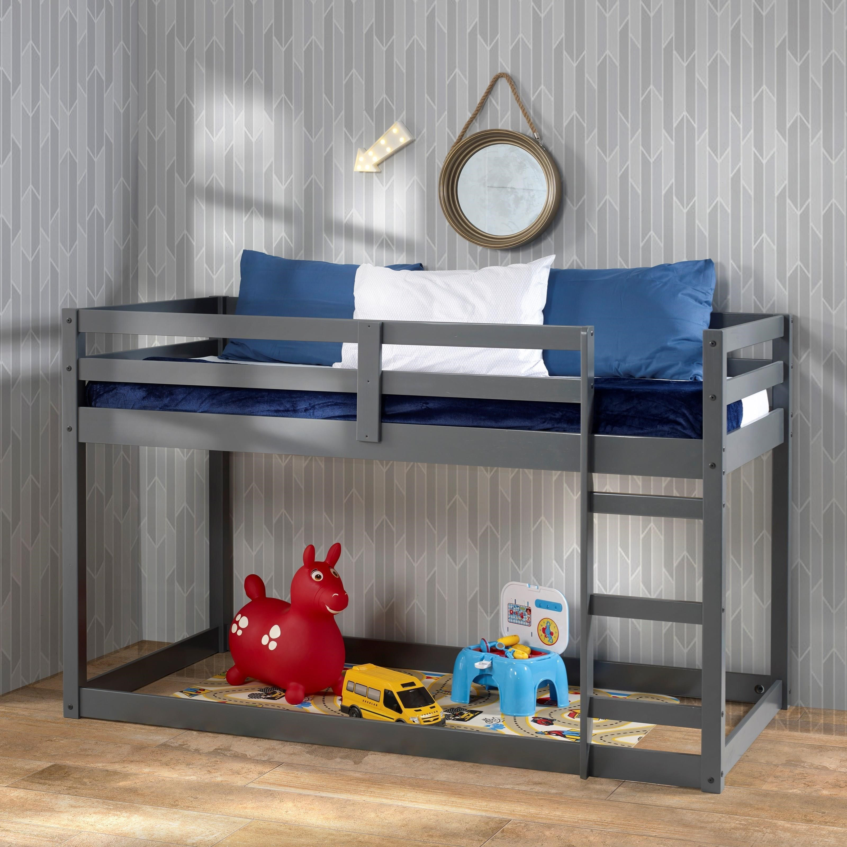 Gaston Twin Loft Bed by Acme Furniture at Rooms for Less