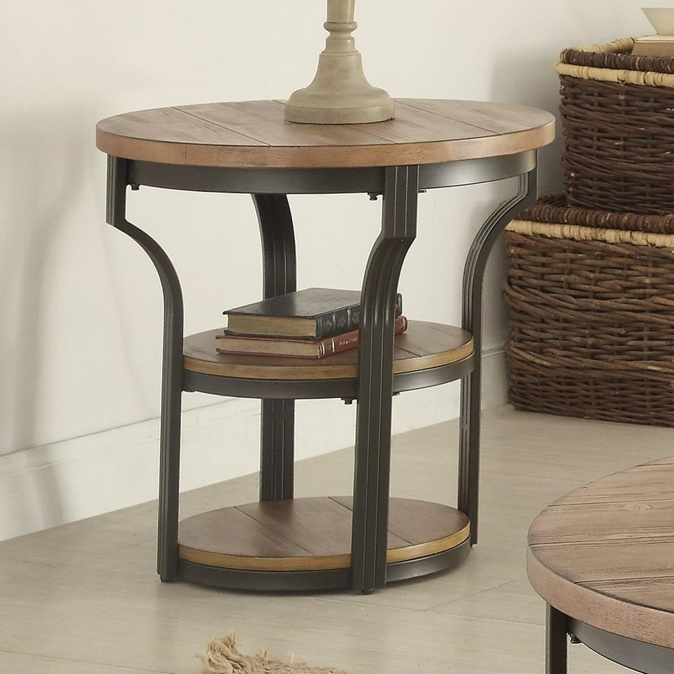 Geoff End Table by Acme Furniture at Nassau Furniture and Mattress