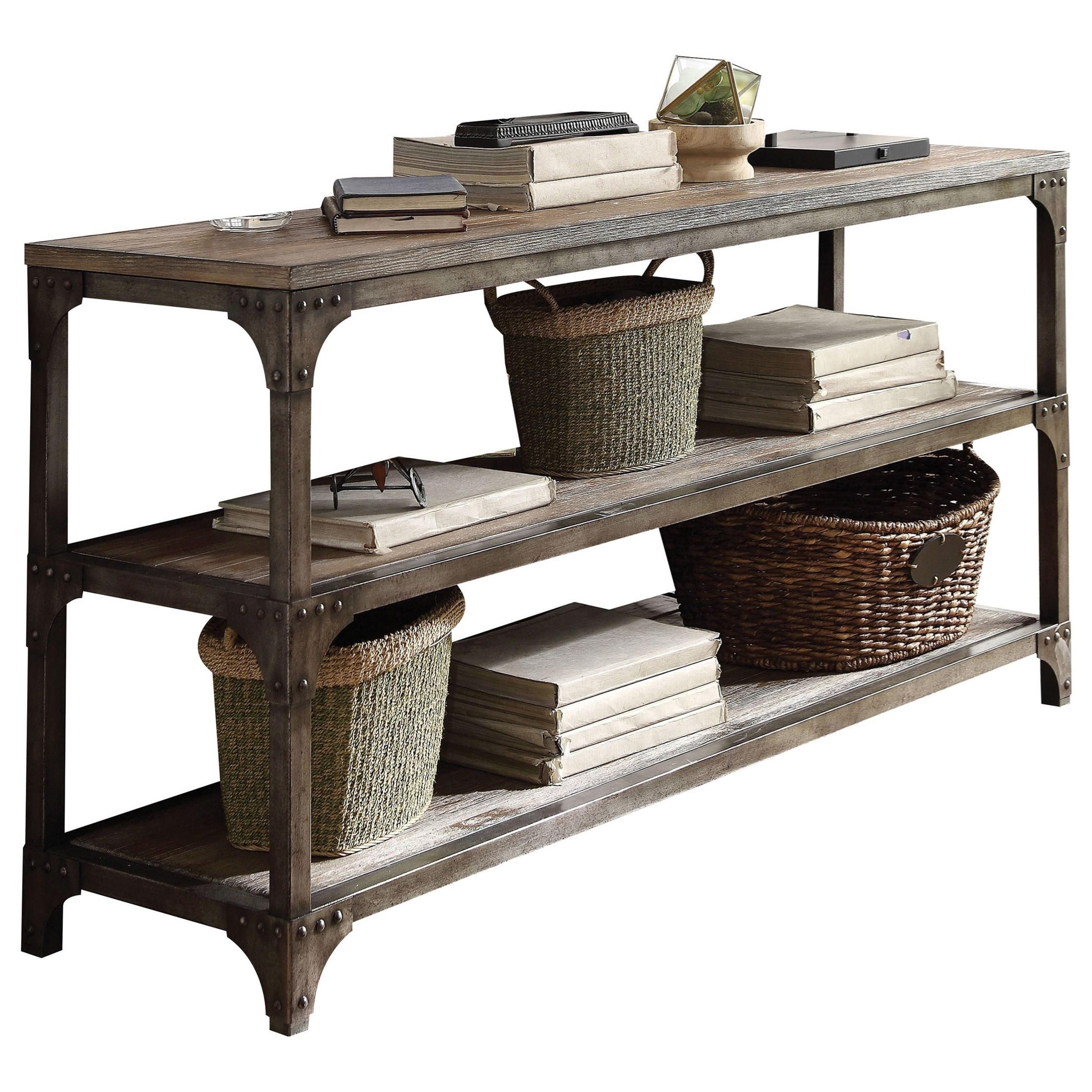 Gorden Console Table by Acme Furniture at Corner Furniture