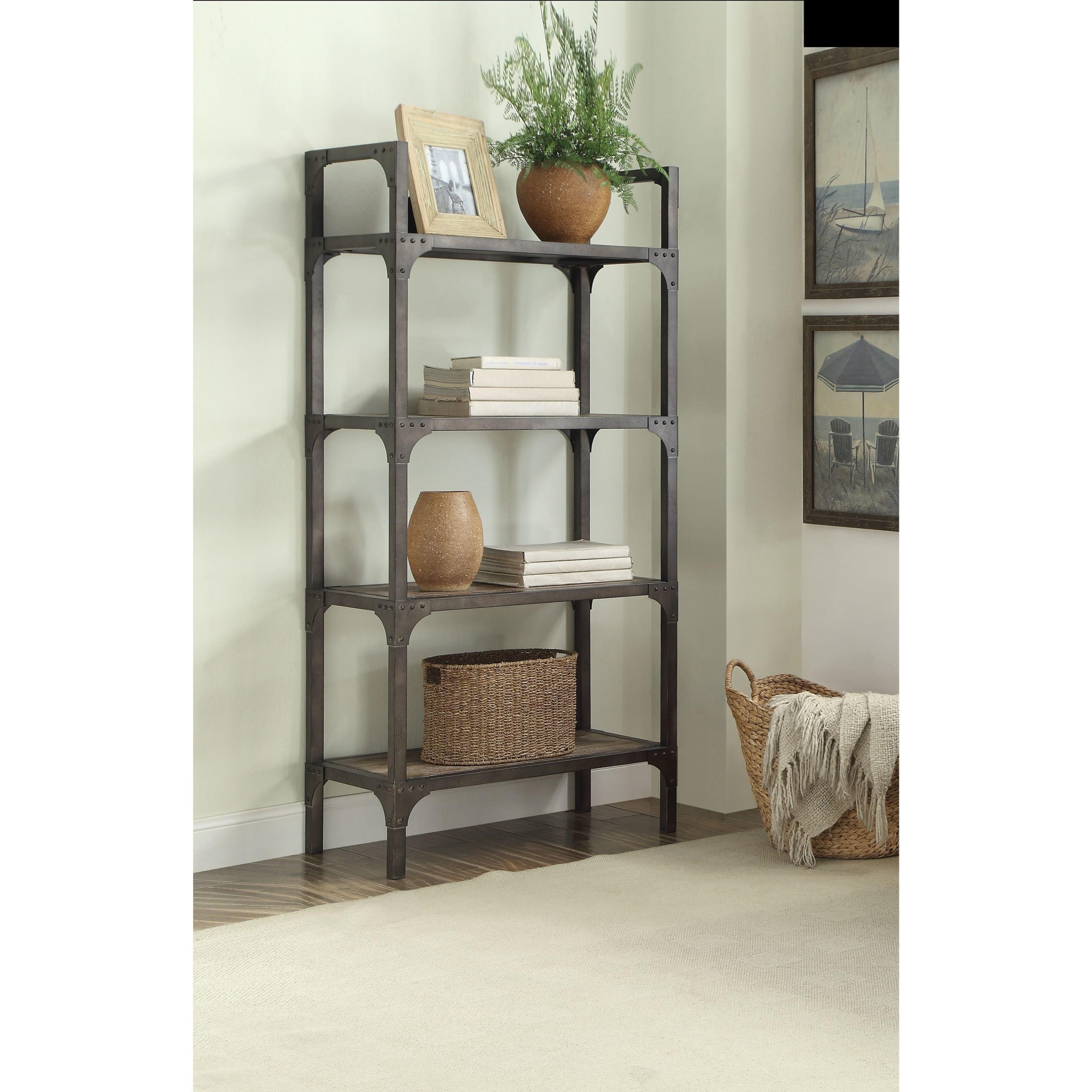 Gorden Bookshelf by Acme Furniture at Carolina Direct
