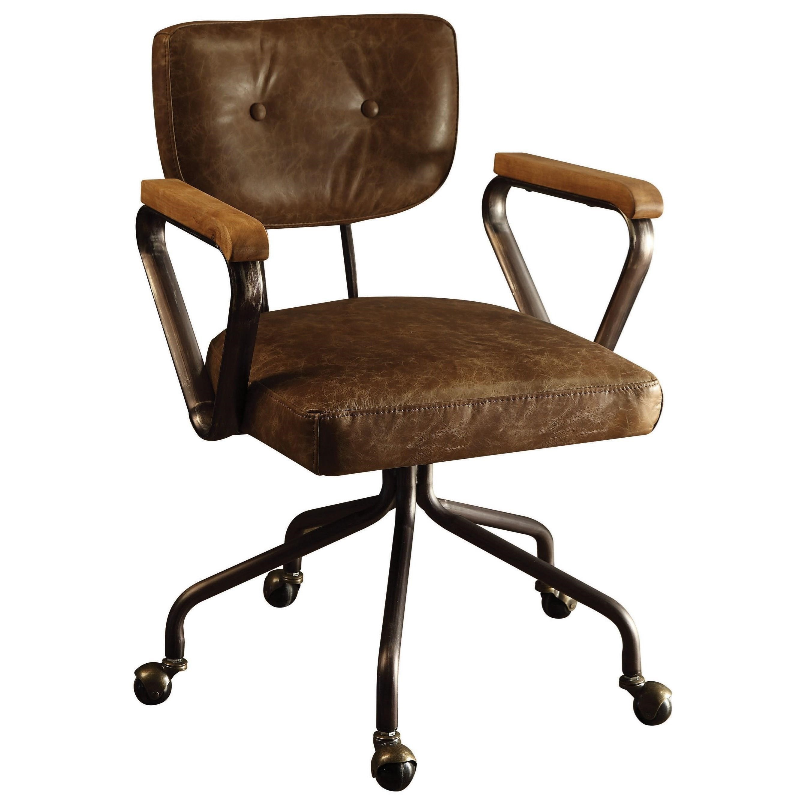 Hallie Office Chair by Acme Furniture at A1 Furniture & Mattress