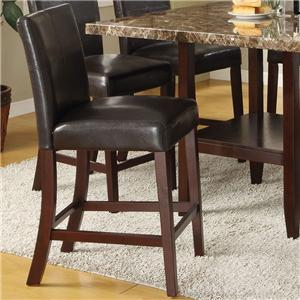 Counter Height Parsons Style Chair