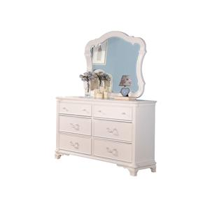 Traditional Youth Dresser and Mirror Combo