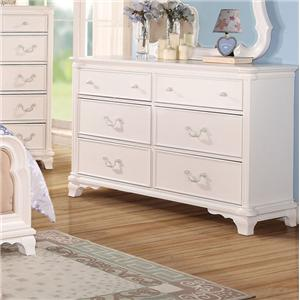 6-Drawer Youth Dresser