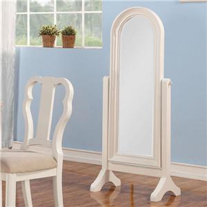 Acme Furniture Ira Cheval Floor Mirror