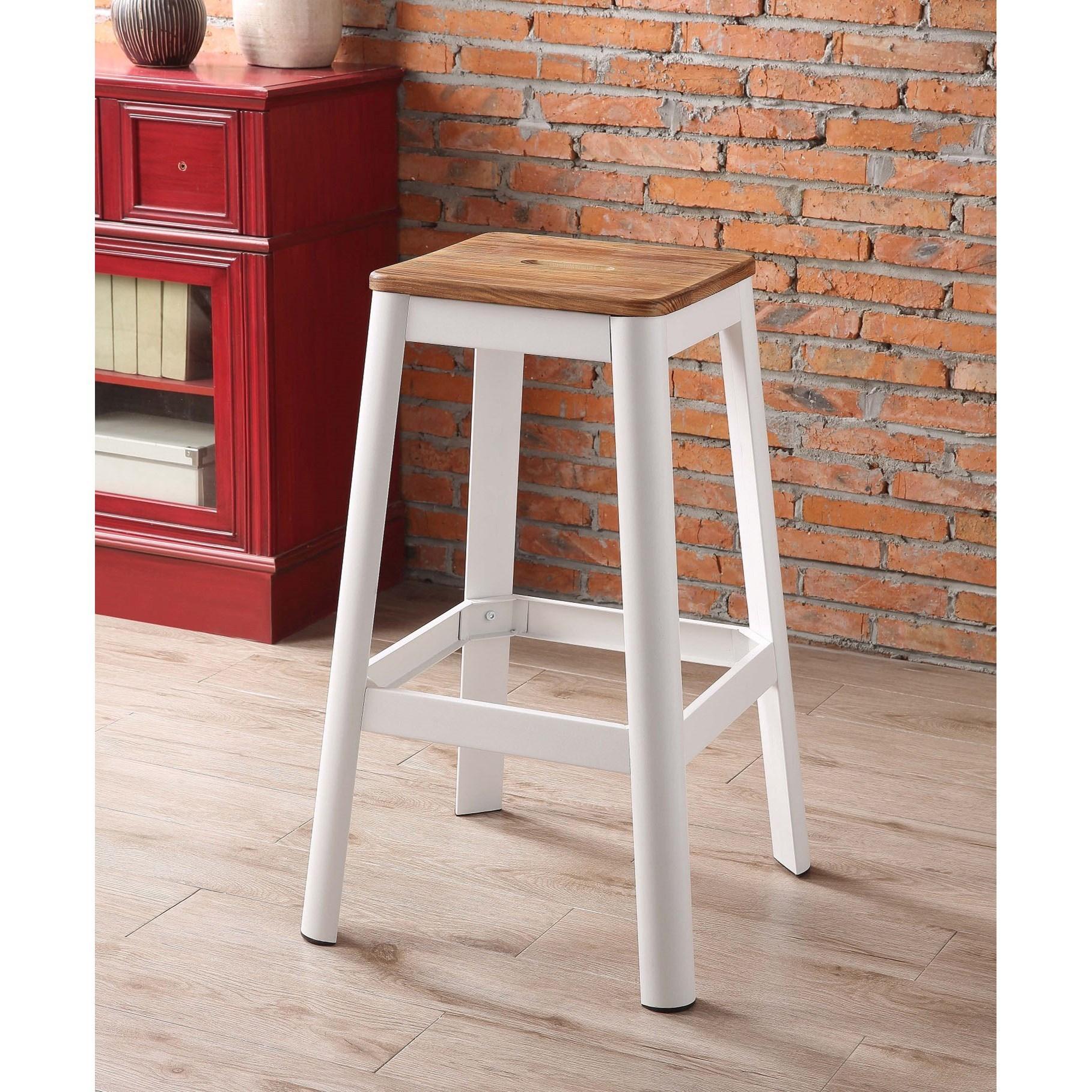 Jacotte Bar Stool by Acme Furniture at Carolina Direct