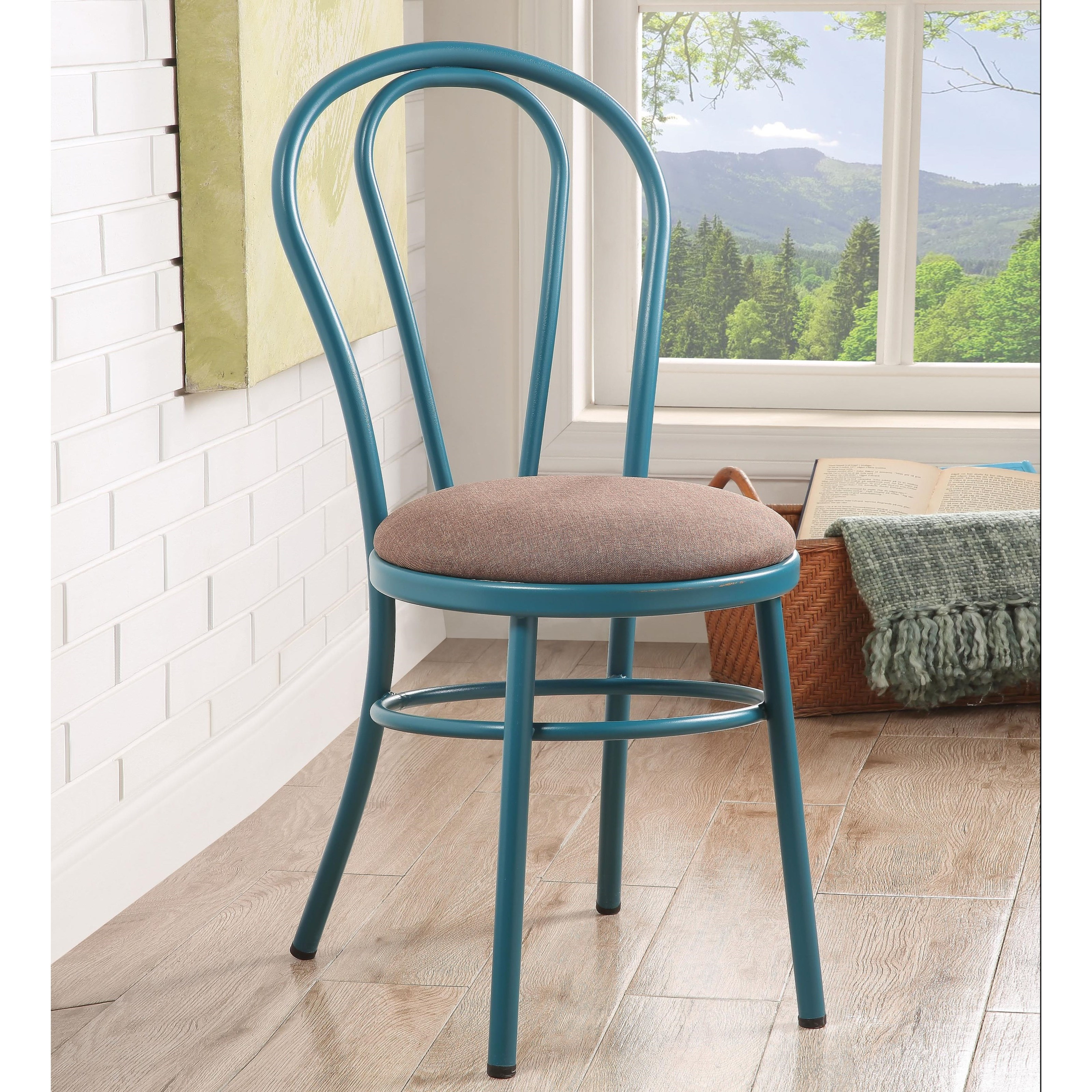 Jakia Side Chair by Acme Furniture at Del Sol Furniture