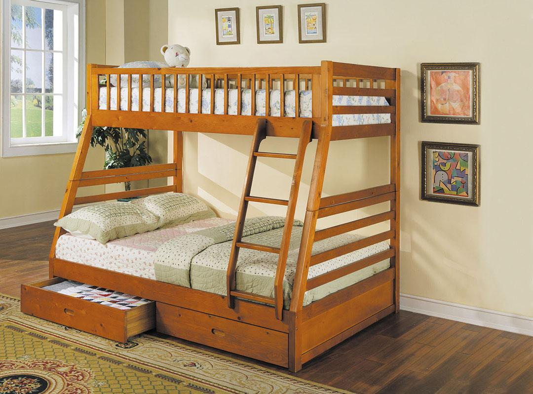 Jason Twin Over Full Bunkbed by Acme Furniture at Del Sol Furniture